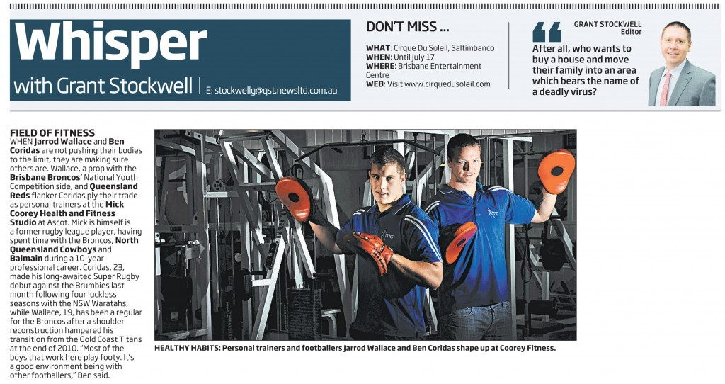 Field of fitness - in the media